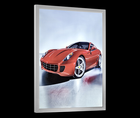 Slim LED Lightbox Image