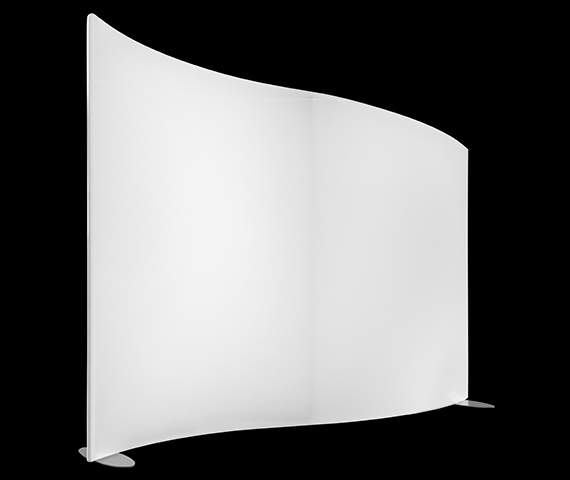 Wave Panel Tapered Left, Self-Standing Image