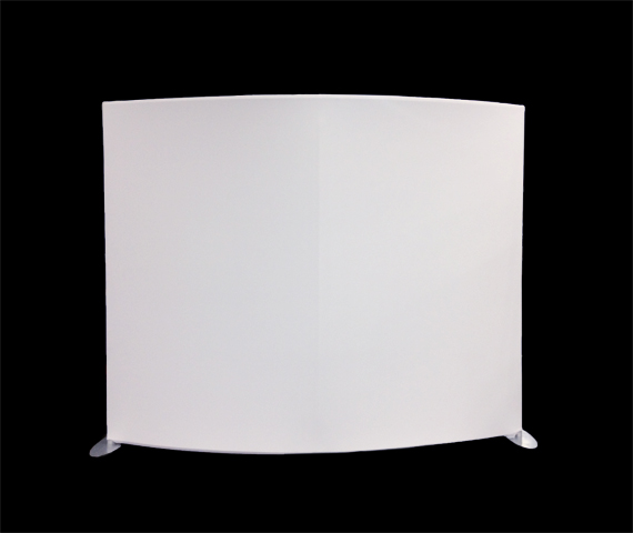 Curved Panel, Self-Standing Image