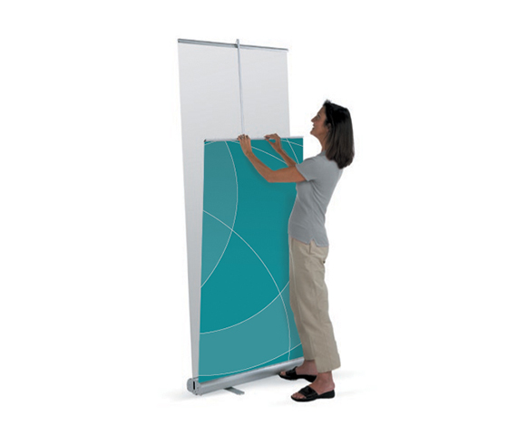 Classic 2 Double-Sided Banner Stand Image
