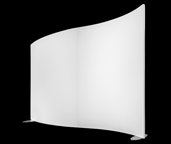 Wave Panel Tapered Right, Self-Standing Image