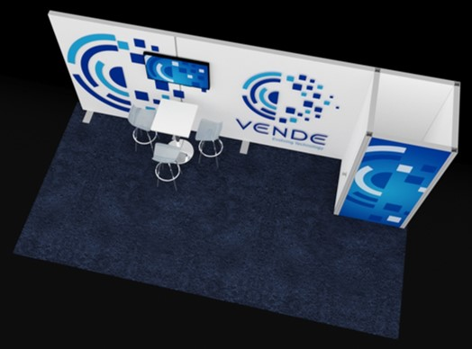 STRAIGHT SHOOTER, EZ WALL TRADE SHOW BOOTH, 10' X 20' Image