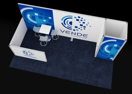 THE ALCOVE, EZ WALL TRADE SHOW BOOTH, 10' X 20' Image