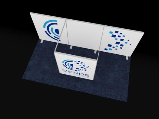 BEST FOOT FORWARD, EZ WALL TRADE SHOW BOOTH, 10' X 20' Image