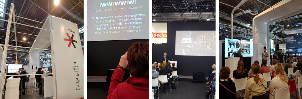 Retail presentations and trends at EuroShop