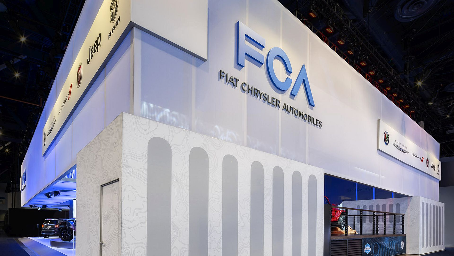 FCA at CES canopy by Moss